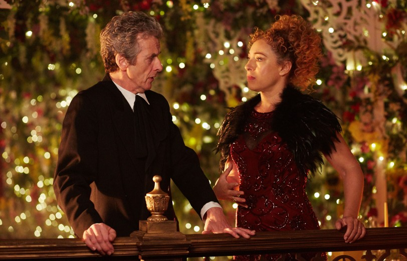 The Doctor and River Song on a date
