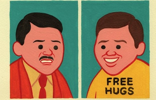 Two Men, Joan Cornellà