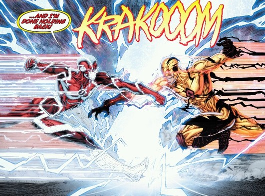 New 52, Flash and Professor Zoom collide