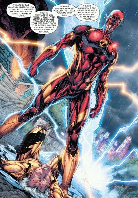 New 52, Flash defeats Professor Zoom